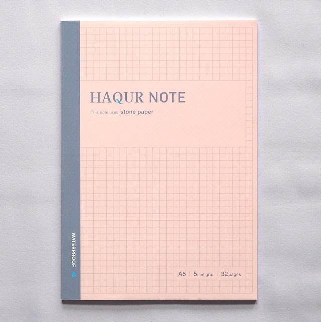 【石のノート】ハクアノート ピンク