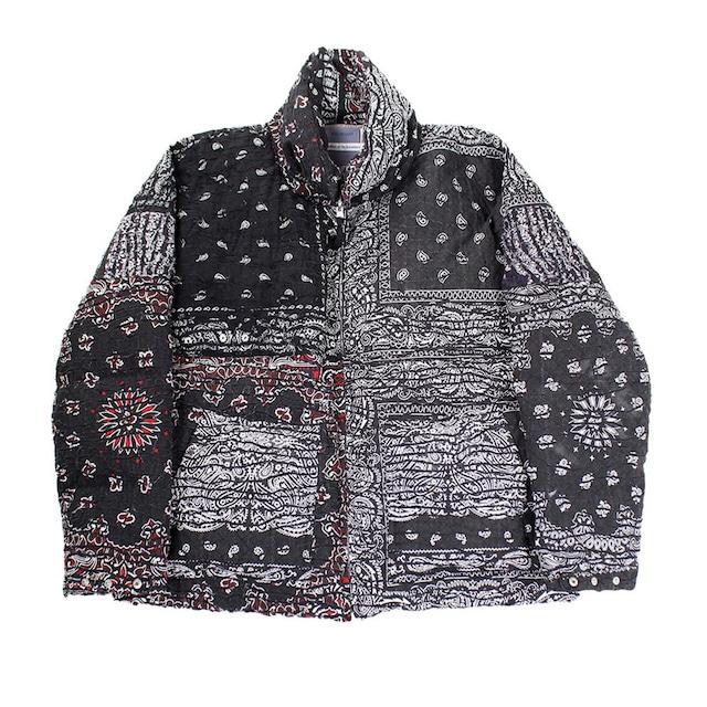 CHILDREN OF THE DISCORDANCE Vintage Bandana Puffer jacket