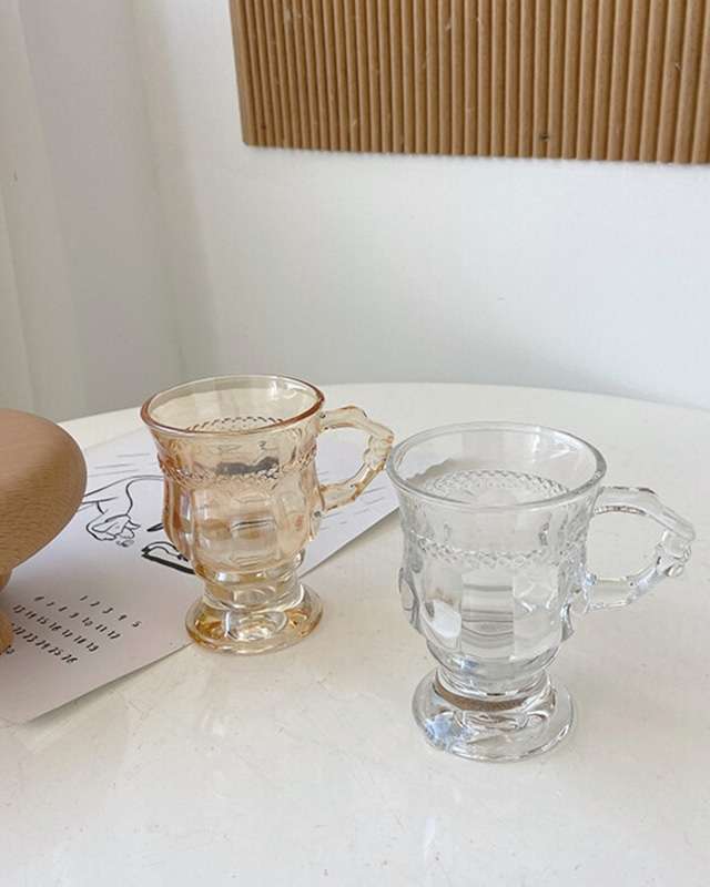 retro clear cup