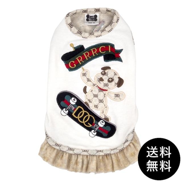 LunaBlue(ルナブルー)GRRRCI DOG SKATEBOARD DRESS グルルッチスケートボードドレス XS, S, M, L, XLサイズ ゆうパケット送料無料