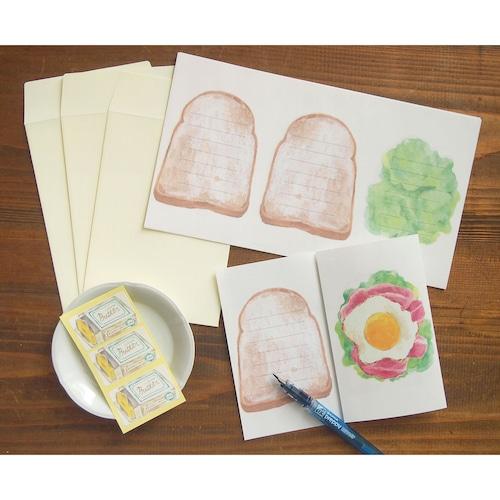 レターセット サンドイッチなお手紙