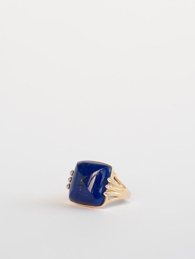 Lapis Lazuli Ring / Elizabeth Adams