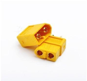 特価◆AMASS 純正XT60コネクター メス1個  Amass文字刻印有り
