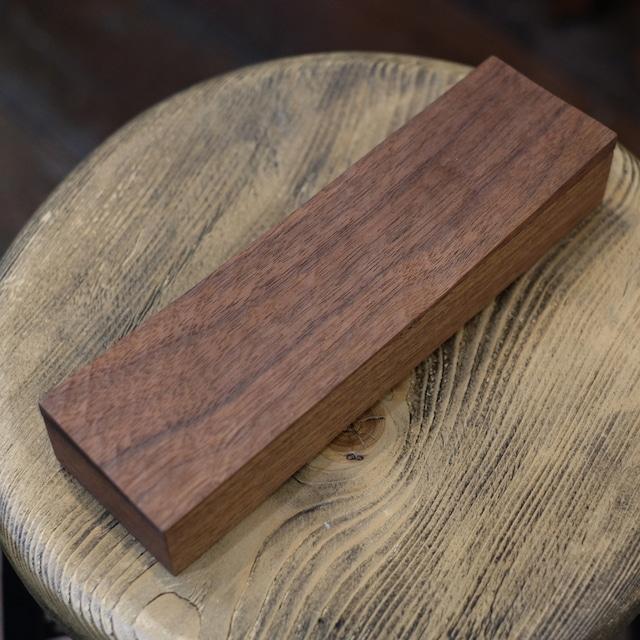 工房フジサワ ウォールナット木箱 削り出し