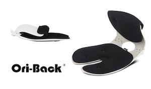 OriBack-オリバックチェア 姿勢サポート(ブラック)