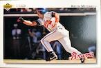 MLBカード 92UPPERDECK Keith Mitchell #454 BRAVES