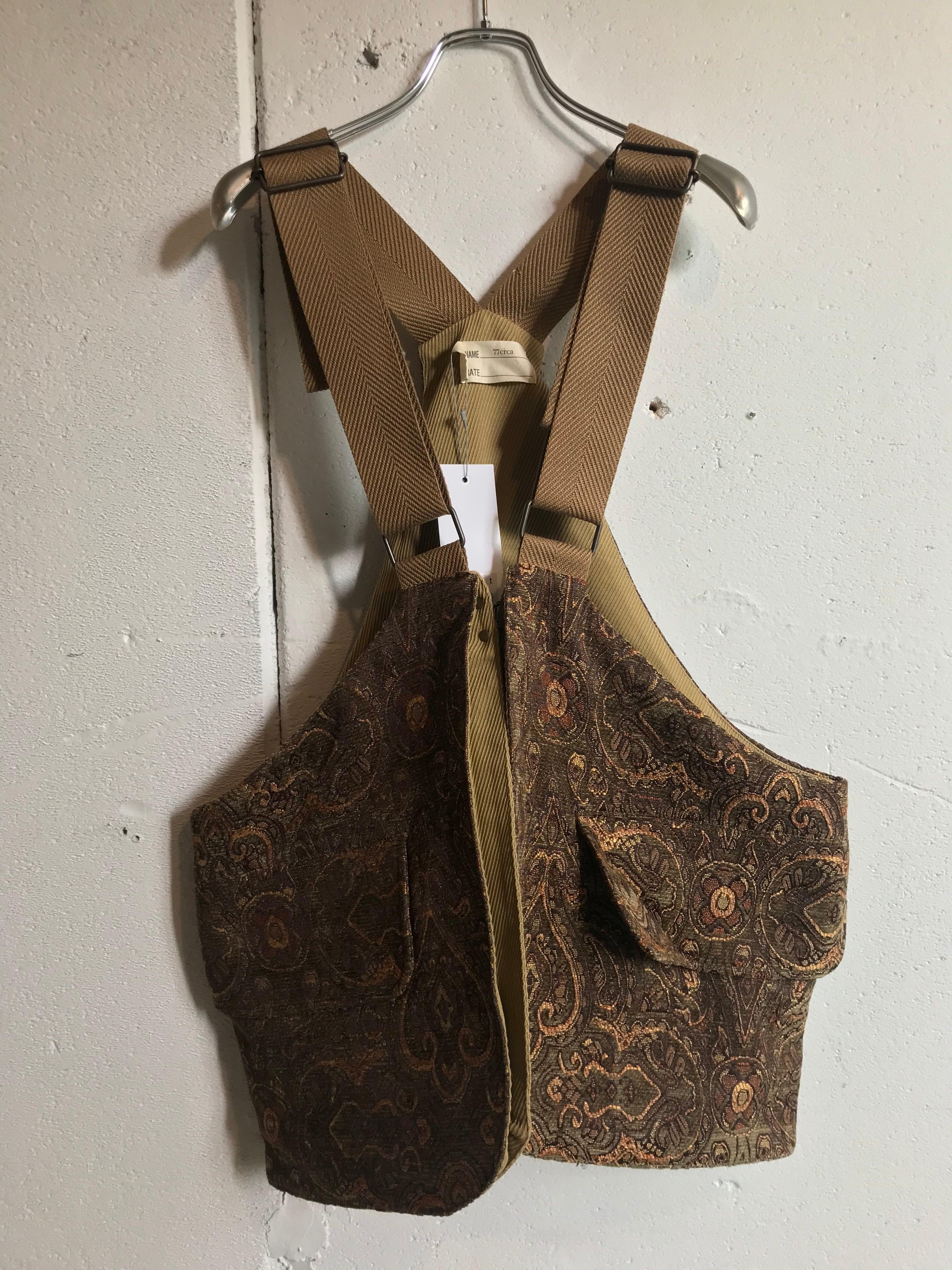 77circa  circa make hunting gobelins vest