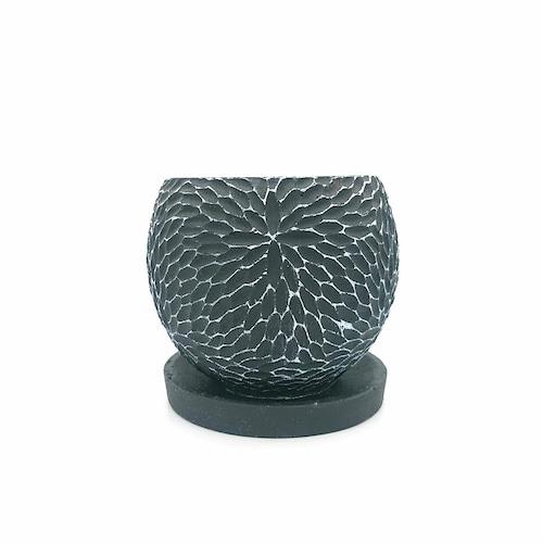 raraiuvant 陶器鉢 ブラック Sサイズ