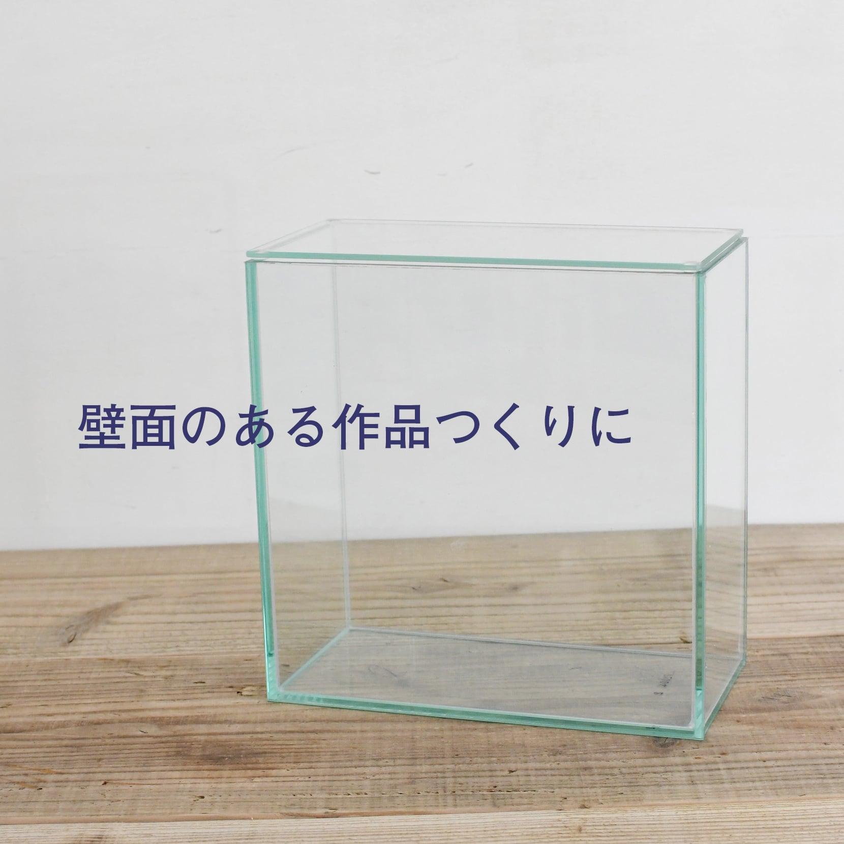 【ガラス容器】フィット200x100High(200x100xh200mm)◆苔壁のある作品つくりに