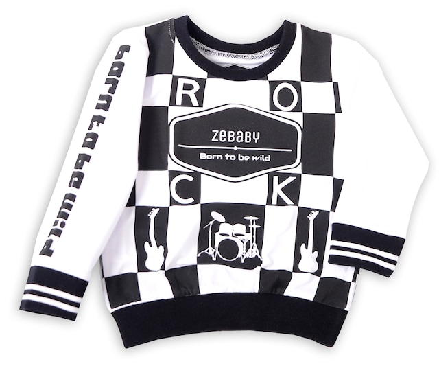 ZEBABY CHECK ROCK T-SHIRT(税込み)