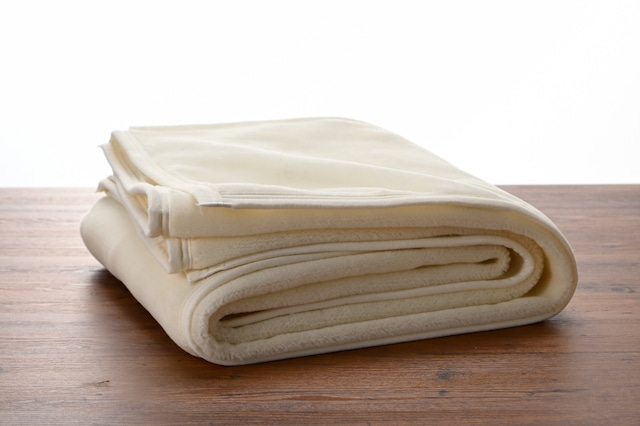 200-秋冬のやわらか綿毛布シーツ 【Pureシーツ】 (200×200cm)