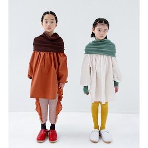 Last one!folk made warm neck pullover M/L  F20AW-012