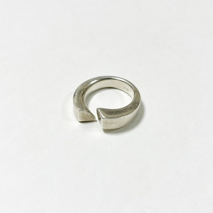 Old 925 Silver Modernist Ring