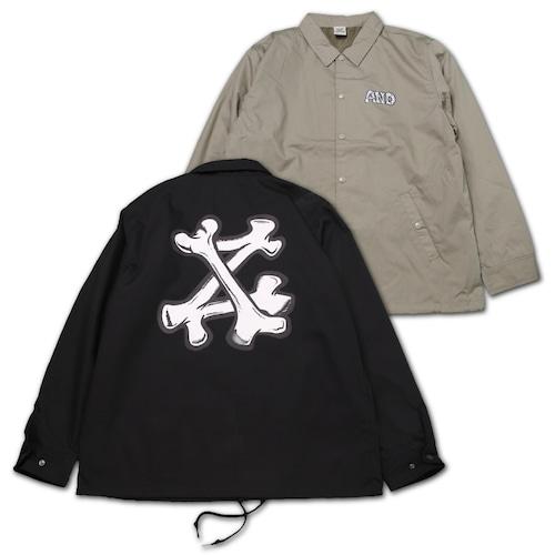AND BONES LOGO Coach jacket