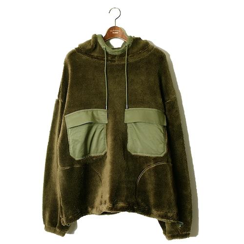 M-51 Sleeve Military Hoody -olive <LSD-AI3T1>