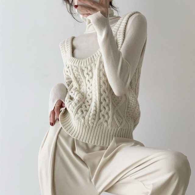 Knit vest KRE1102