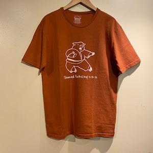 "【Mixta】 S/S Print T-Shirt ""Steamed Porkchop"" ミクスタ 半袖 プリント Tシャツ"