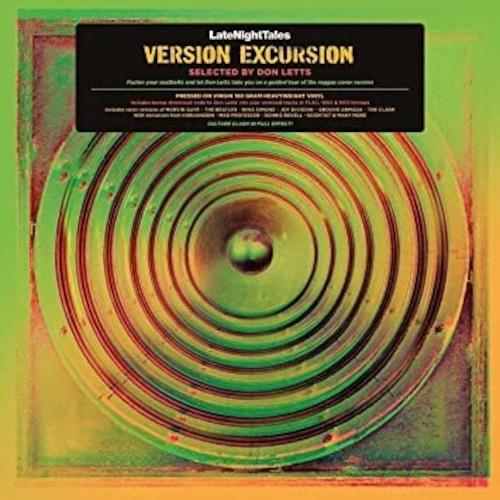 【ラスト1/LP】Don Letts - Late Night Tales presents Version Excursion selected by Don Letts 2LP+(+ミックス|アンミックス音源DLコード/180g重量盤)