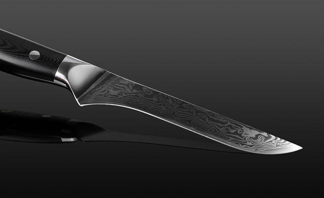 ダマスカス包丁 【XITUO 公式】 骨スキ包丁 刃渡り 15cm VG10 ks20102801