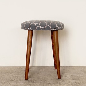 Foot stool with mina perhonen dop tambourine / CH077