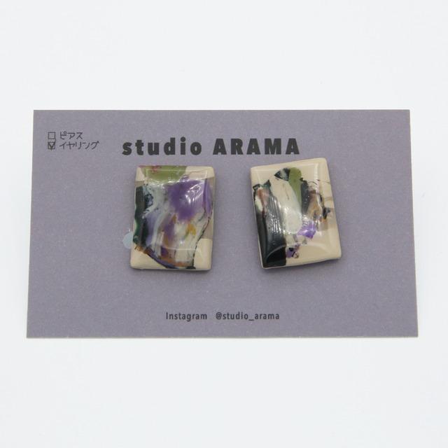 studioARAMA/スタジオアラマ/アートミニイヤリング/AM-2-57