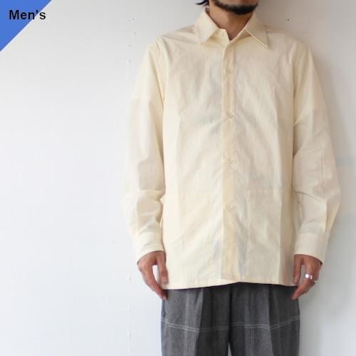 【ラスト1点】THE HINOKI オーガニックコットンウェザースリットポケットシャツ Organic Cotton Weather Slit Pocket Shirt  TH21W-1