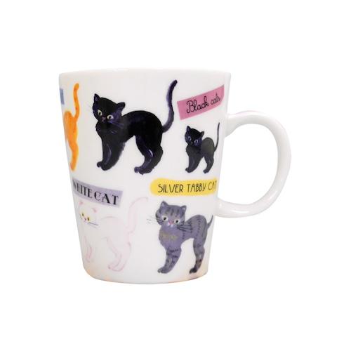 猫マグカップ(エクートミネットスマートマグ)リラックス