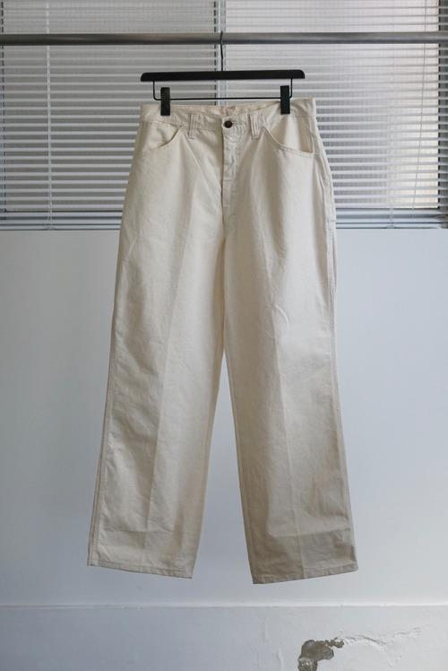 <SOLD OUT>Unbleached Cloth Painter Pants 1970's Dead Stock