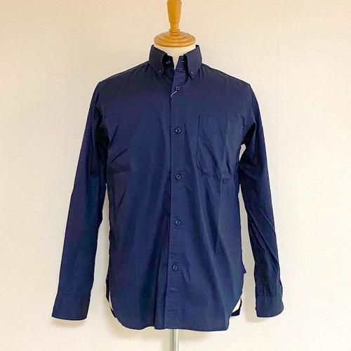 Pin-Point Oxford BD Shirts Navy