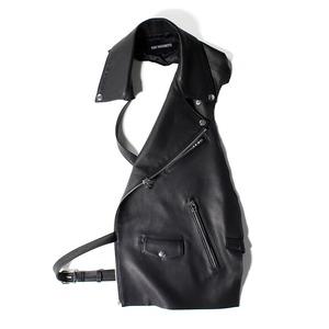 YUKI HASHIMOTO leather vest