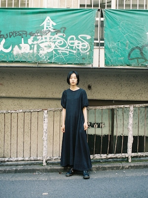 【再入荷】SARA DRESS - BLACK