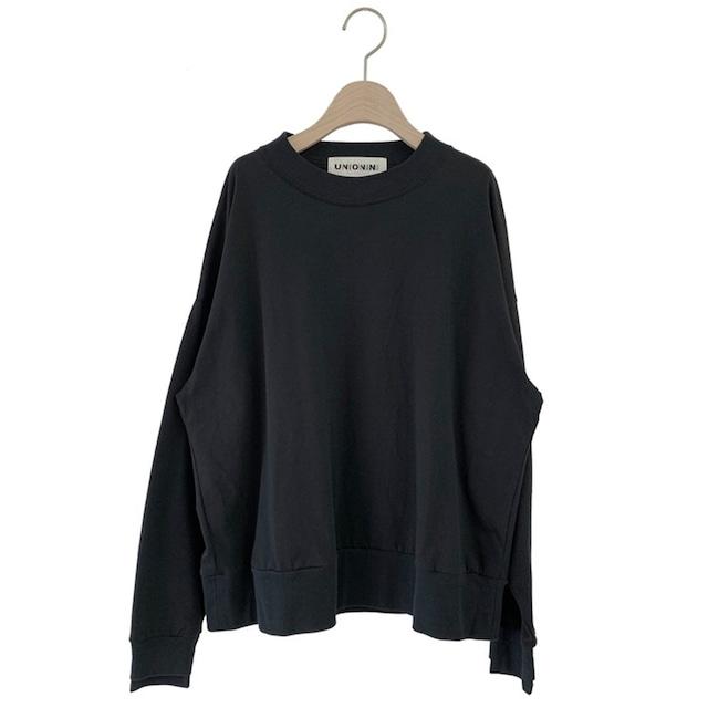UNIONINI reflect logo long sleeved tee  4-6/6-8/8-10/10-12 (black) ※メール便1点までOK