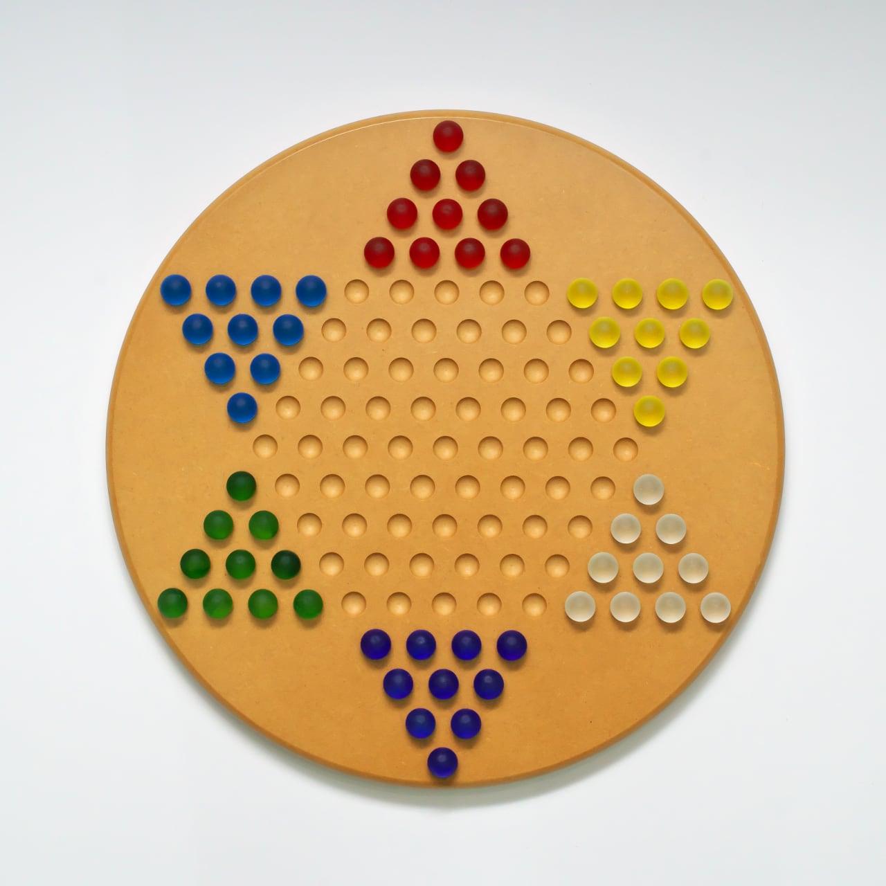 マーブル・チャイニーズチェッカーズ(ダイヤモンドゲーム)