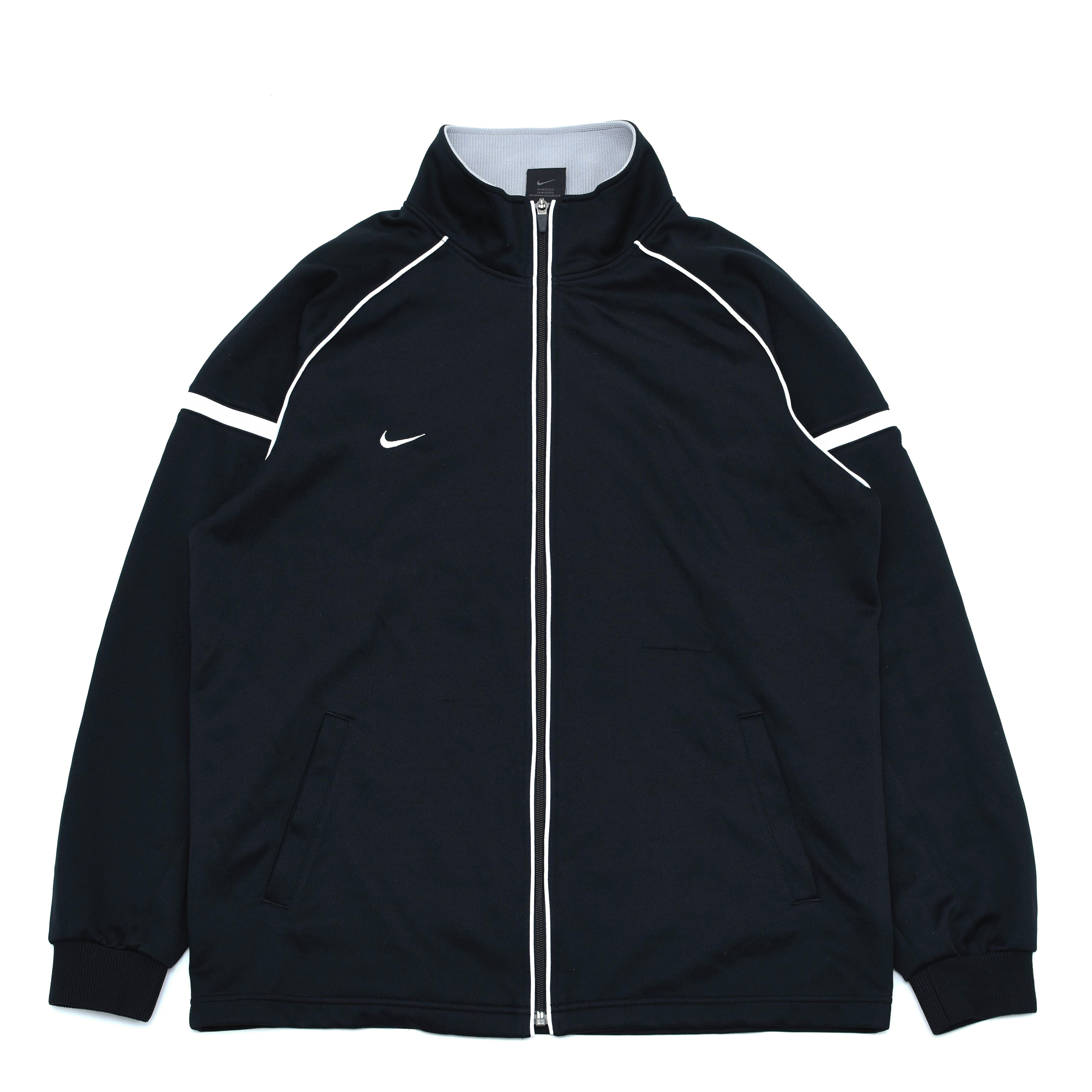 NIKE one point logo piping track jacket