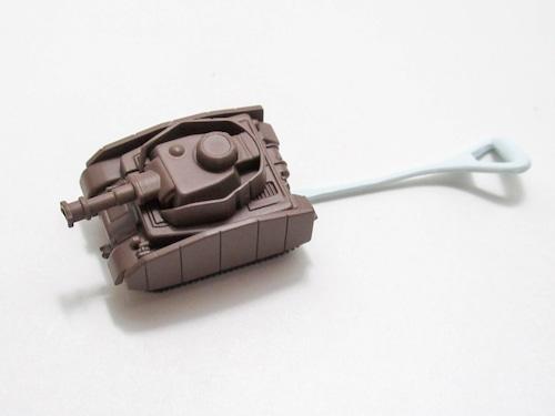 【25】 西住みほ 小物パーツ ミニ戦車 キューポッシュ