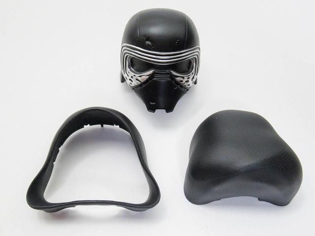【726】 カイロ・レン 顔、髪パーツ マスク ねんどろいど