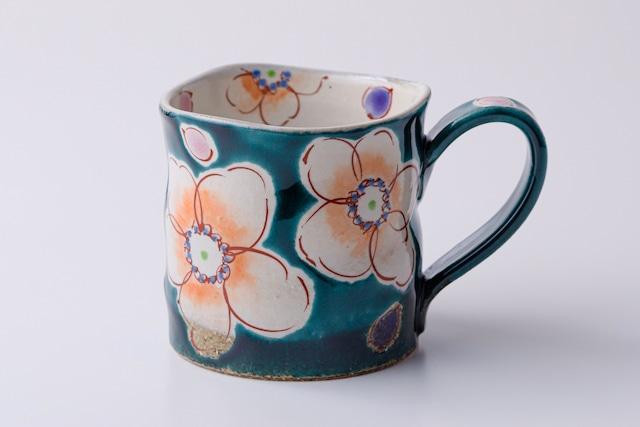 マグカップ 釉彩花うらら