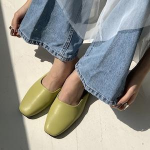 Lazy flat slippers(レイジーフラットスリッパ)b-124