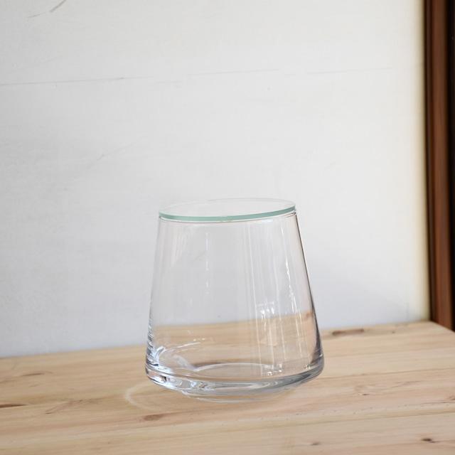 【ガラス容器】台形ポット・M ふた付き(90xh120mm)◆適度な通気で丈夫に育つ
