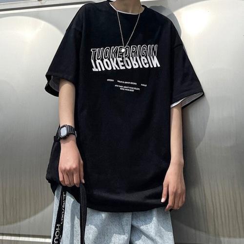 フロントグラフィックTシャツ BL8438