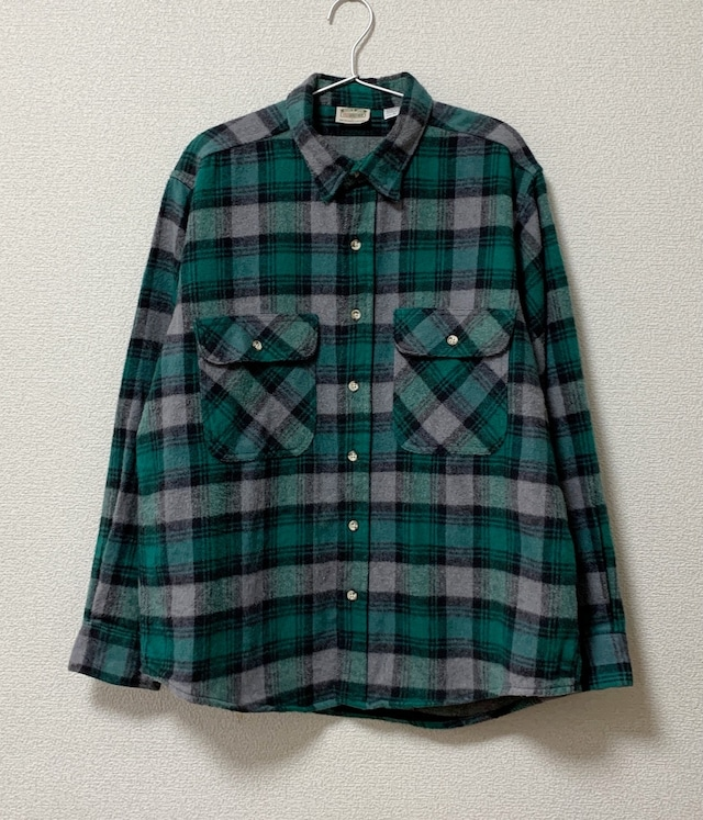 USED FIVE BROTHER CHECK SHIRT