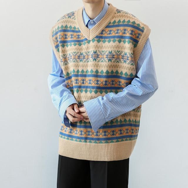 Retro clan vest    a-019
