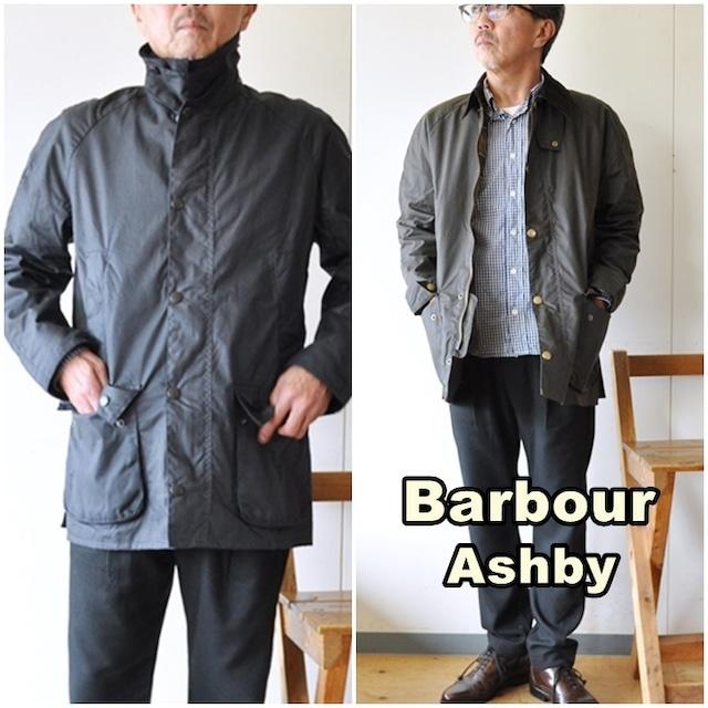 Barbour  バブアー  ASHBY アシュビー ワックス SL  MWX1900 ワックスジャケット オイルドジャケット