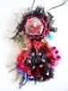 赤い実と薔薇と唇のネックレス<60cmヒモ>