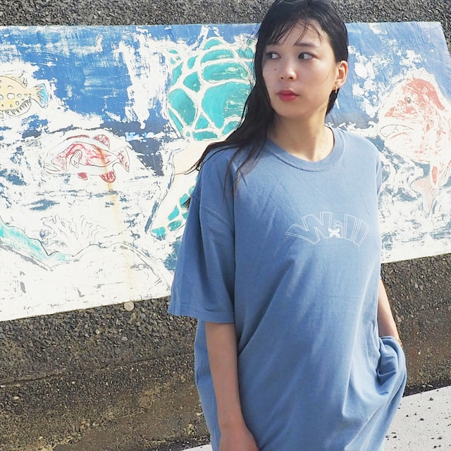 WillxWill double line T-shirts blue