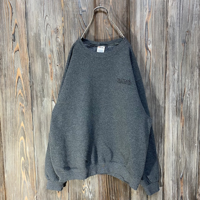 [used]red rock embroidery sweat