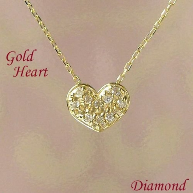 ダイヤモンド ネックレス ゴールド