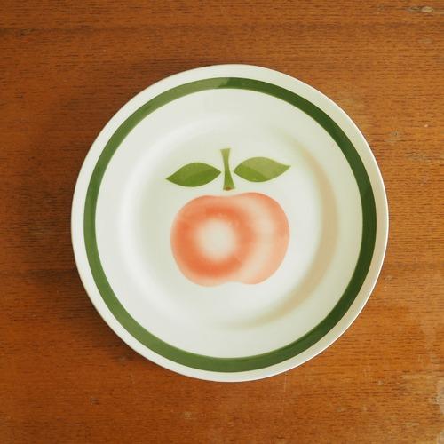 リンゴのデザート皿