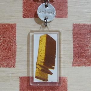 フランス Unimel[ユニメル]お菓子会社ジンジャーブレッド広告ノベルティ キーホルダー