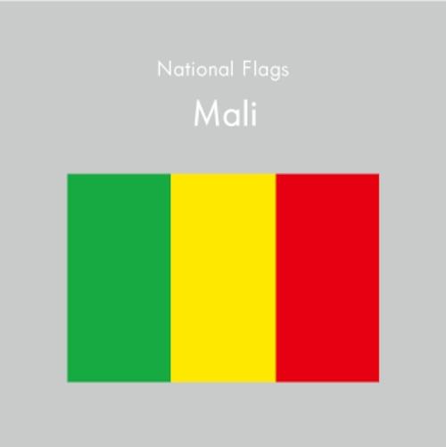 国旗ステッカー マリ